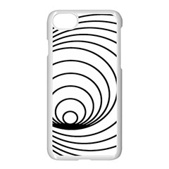Spiral Eddy Route Symbol Bent Apple Iphone 7 Seamless Case (white)