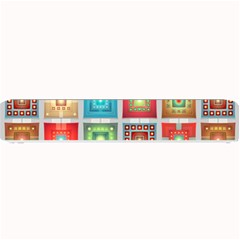 Tiles Pattern Background Colorful Small Bar Mats