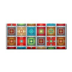 Tiles Pattern Background Colorful Cosmetic Storage Cases