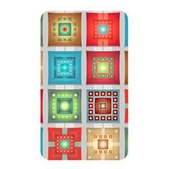 Tiles Pattern Background Colorful Memory Card Reader