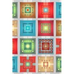 Tiles Pattern Background Colorful 5 5  X 8 5  Notebooks