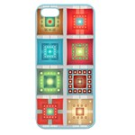 Tiles Pattern Background Colorful Apple Seamless iPhone 5 Case (Color) Front