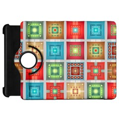 Tiles Pattern Background Colorful Kindle Fire Hd 7