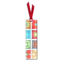 Tiles Pattern Background Colorful Small Book Marks