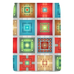 Tiles Pattern Background Colorful Flap Covers (s)