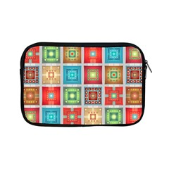Tiles Pattern Background Colorful Apple Ipad Mini Zipper Cases