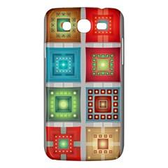 Tiles Pattern Background Colorful Samsung Galaxy Mega 5 8 I9152 Hardshell Case
