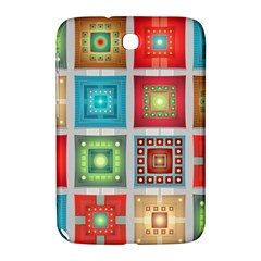 Tiles Pattern Background Colorful Samsung Galaxy Note 8 0 N5100 Hardshell Case