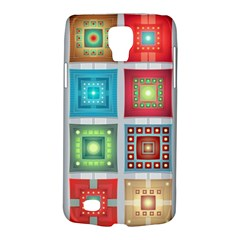 Tiles Pattern Background Colorful Galaxy S4 Active