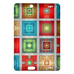 Tiles Pattern Background Colorful Amazon Kindle Fire Hd (2013) Hardshell Case