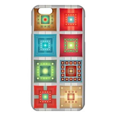 Tiles Pattern Background Colorful Iphone 6 Plus/6s Plus Tpu Case