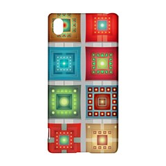 Tiles Pattern Background Colorful Sony Xperia Z3+