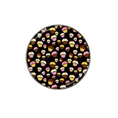 Jammy cupcakes pattern Hat Clip Ball Marker