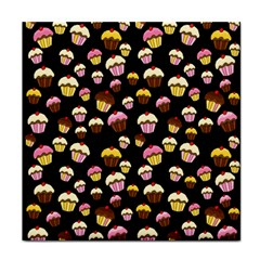 Jammy cupcakes pattern Face Towel