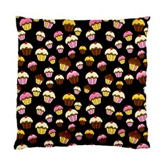 Jammy cupcakes pattern Standard Cushion Case (Two Sides)