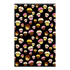 Jammy Cupcakes Pattern Shower Curtain 48  X 72  (small)
