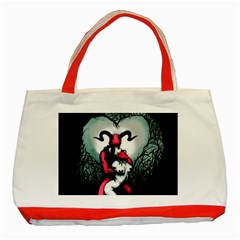 Happily Ever After Classic Tote Bag (red)