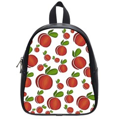 Peaches pattern School Bags (Small)