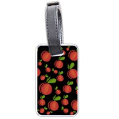 Peaches Luggage Tags (One Side)