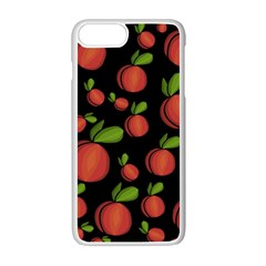 Peaches Apple Iphone 7 Plus White Seamless Case