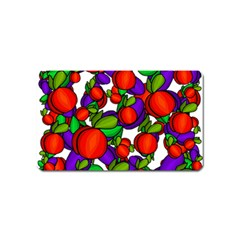 Peaches and plums Magnet (Name Card)