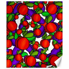 Peaches And Plums Canvas 8  X 10