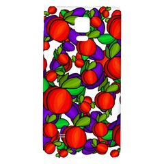 Peaches And Plums Galaxy Note 4 Back Case