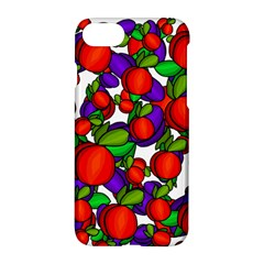 Peaches And Plums Apple Iphone 7 Hardshell Case