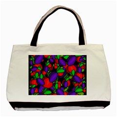 Plums and peaches Basic Tote Bag (Two Sides)
