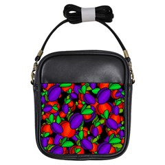 Plums and peaches Girls Sling Bags
