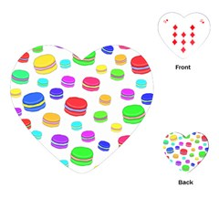 Macaroons Playing Cards (Heart)