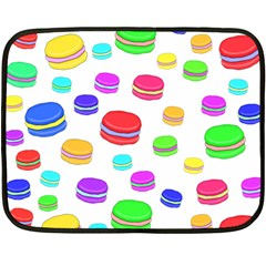 Macaroons Double Sided Fleece Blanket (Mini)