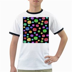 Colorful macaroons Ringer T-Shirts