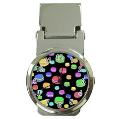 Colorful macaroons Money Clip Watches