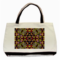 Queen Design 456 Basic Tote Bag (two Sides)