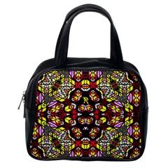Queen Design 456 Classic Handbags (one Side)