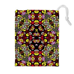 Queen Design 456 Drawstring Pouches (extra Large)
