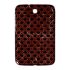 Scales2 Black Marble & Red Marble Samsung Galaxy Note 8 0 N5100 Hardshell Case