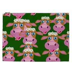 Cow Pattern Cosmetic Bag (xxl)