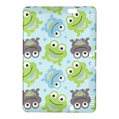 Frog Green Kindle Fire Hdx 8 9  Hardshell Case