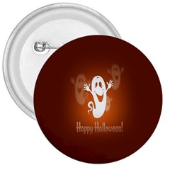Funny Halloween 3  Buttons