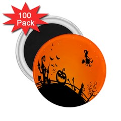 Halloween Day 2 25  Magnets (100 Pack)