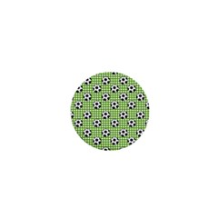 Green Ball 1  Mini Buttons