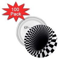 Optical Illusions 1 75  Buttons (100 Pack)