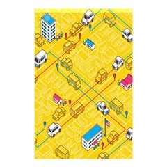 Highway Town Shower Curtain 48  X 72  (small)