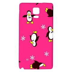Penguin Galaxy Note 4 Back Case