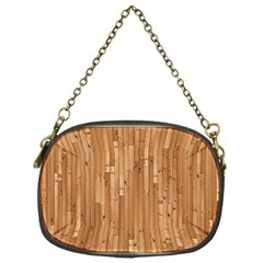 Parquet Floor Chain Purses (one Side)