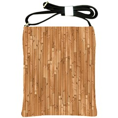 Parquet Floor Shoulder Sling Bags