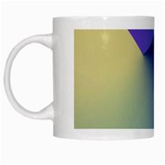 Purple Yellow White Mugs