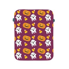 Pumpkin Ghost Canddy Helloween Apple Ipad 2/3/4 Protective Soft Cases